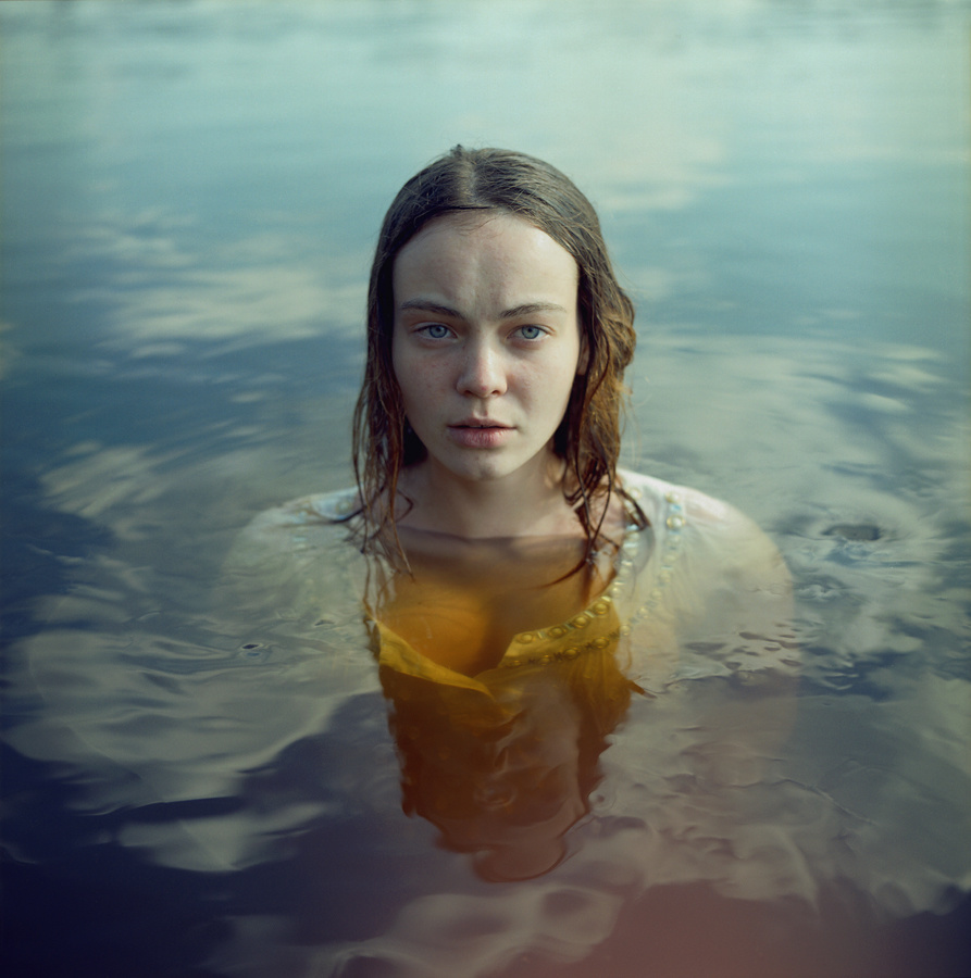 "Kate Smuraga, from ""Letter from a Quiet Town"". Source: lensculture.com"