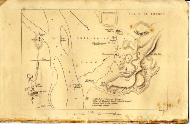 Map of Thebes, 1850. Source: archangelnikk.wordpress.com